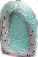 Кокон для новонародженого з відстібними підлогою