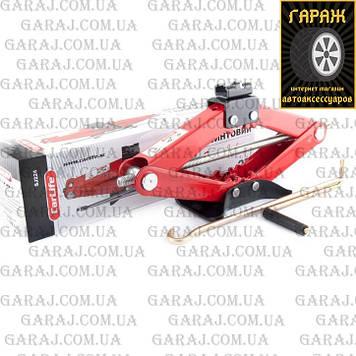 Домкрат ромб 2т CARLIFE SJ224 Метал.подушка 120-415