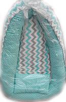 Кокон для новорожденного с отстегивающимся дном  и подушкой
