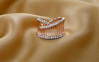 Шикарное женское кольцо в греческом стиле.