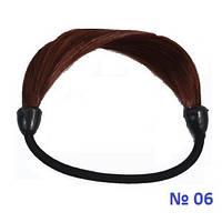 Резинка для волос из искусственных волос. Цвет № 06, фото 1