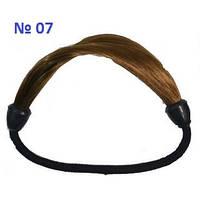 Резинка для волос из искусственных волос. Цвет № 07, фото 1