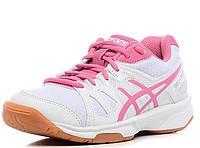 Гандбольные кроссовки Asics Gel-upcourt GS (C413N-0120) White/Pink Оригинал