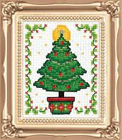 """Набор для вышивания крестом """"Christmas Tree//Рождественское дерево"""" Design Works dw595"""