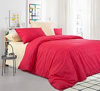 Комплект постельного белья Mix 8+2ЭКО перкаль простыня на резинке