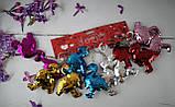 Брелок Фламинго паетки 5-563 98624+, фото 2