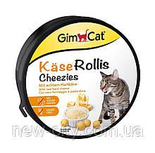 Gimpet Kase-Rollis Таблетки сырные. Общеукрепляющий комплекс для котов 200гр