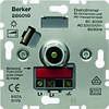 Поворотно-нажимной диммер для ЛН та ВВГЛ 60-600 Вт Berker