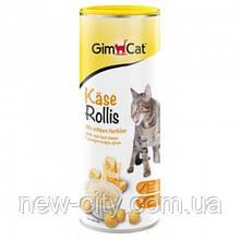 Gimpet Kase-Rollis Таблетки сырные. Общеукрепляющий комплекс для котов 425гр