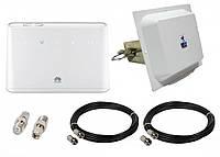 Стационарный 4G комплект Huawei B310s-22, Антенна 4G LTE MIMO MW TECH 1700-2700 MHz