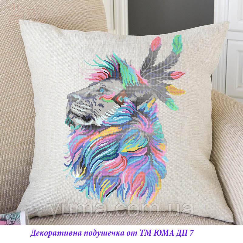 Наволочка для вышивки с подушкой