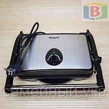 Электрогриль с терморегулятором 1500 W Гриль Winpex Австрия 1065, фото 3