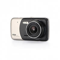 Автомобильный видеорегистратор DVR T652 Full HD 1080p с камерой заднего вида, фото 1