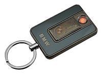 Спиральная электрическая USB зажигалка UKC 811 BMW Black