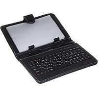 Чехол с русской клавиатурой для планшета UKC 7 mirco