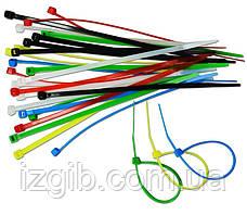 Набор цветных затяжных ремешков, 30 шт 2,5х150 мм