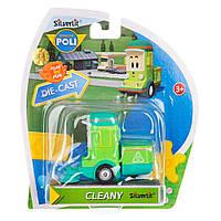 Машинка Робокар Поли (Robocar Poli) - Cleany , Клини , Die-Cast Silverlit