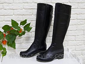 Сапоги Gino Figini  М-101/2-01 из натуральной кожи 37 Черный, фото 3