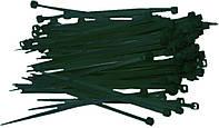 Ремешки затяжные 2.5х200 мм, черные, 100 шт.