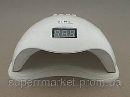 Sun 5, 48W UV LED лед лампа для сушки ногтей, геля, и гель лака 5 nail lamp FD93.1, фото 2