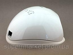 Sun 5, 48W UV LED лед лампа для сушки ногтей, геля, и гель лака 5 nail lamp FD93.1, фото 3