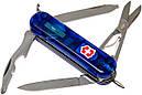 Нож складной, мультитул + LED Victorinox Midnite Manager (58мм, 10 функций), синий прозр 0.6366.Т2, фото 2