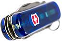 Нож складной, мультитул + LED Victorinox Midnite Manager (58мм, 10 функций), синий прозр 0.6366.Т2, фото 6