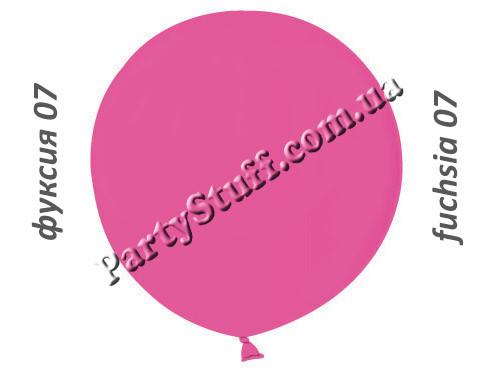 шар сюрприз 31 дюйм цвета фуксии