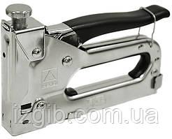 Сшиватель отделочный металлический резиновая накладка скобы 11,3х4-14 мм
