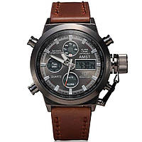 Водонепроницаемые армейские часы AMST AM3003 Brown (тех. пакет)