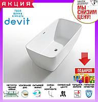 Отдельностоящая ванна акрилова 180x75 см Devit Iven 8075141, фото 1
