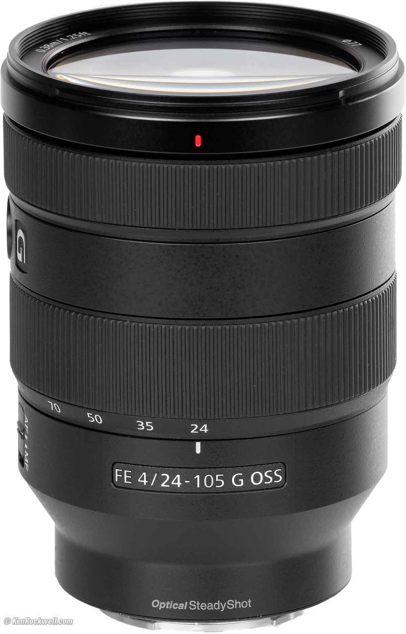 Универсальный объектив Sony SEL24105G 24-105mm f/4 G OSS