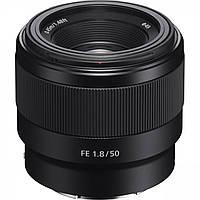 Стандартный объектив Sony SEL50F18F 50mm f/1,8 FE