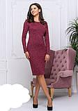 Жіноче плаття модне,тканина ангора-софт,розміри:42,44,46,48., фото 7
