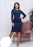 Жіноче плаття модне,тканина ангора-софт,розміри:42,44,46,48., фото 8