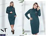 Стильное платье     (размеры 48-58) 0216-35, фото 3