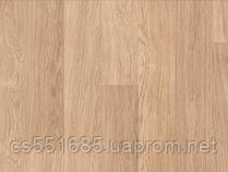 915- Доска белого дуба лакированная 32 кл, 8 мм Коллекция Eligna ламинат Quick-Step ( Квик –степ)