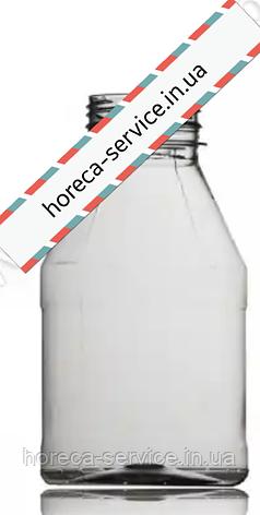 Бутылка пластиковая круглая с широким горлышком с крышкой .0,300 /200шт/упак, фото 2
