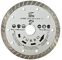 Алмазный диск по бетону, камню TURBO 125 мм