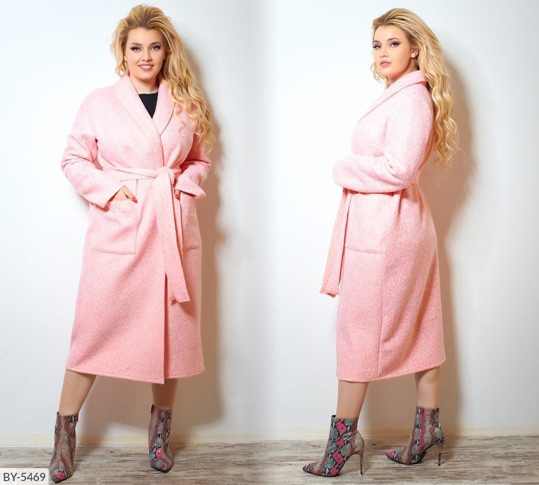 Стильное пальто (размеры 48-62) 0216-40