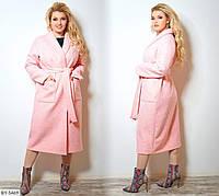 Стильное пальто (размеры 48-62) 0216-40, фото 1