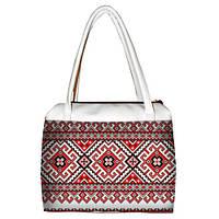 Женская сумка Орнамент красный