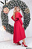 Платье  БАТАЛ нарядное в расцветках 48341, фото 4