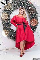 Платье  БАТАЛ нарядное в расцветках 48341, фото 3
