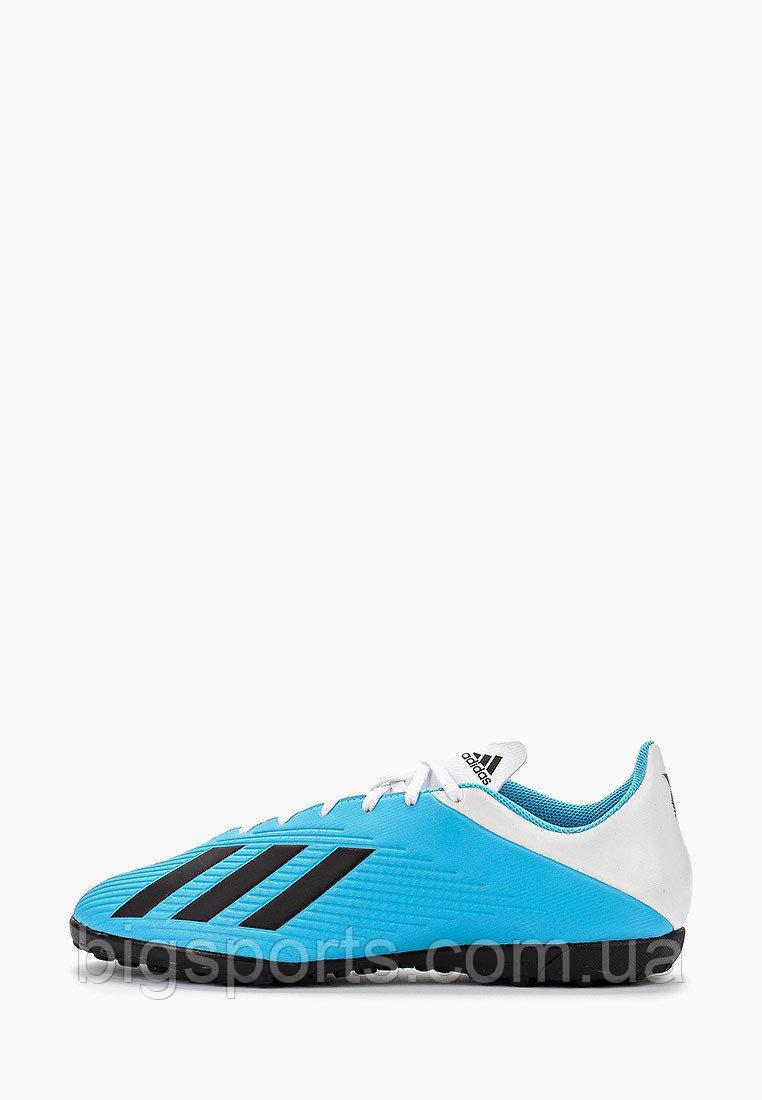 Бутсы футбольные для игры на жестких покрытиях муж. Adidas X 19.4 TF (арт. F35345)