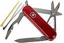 Нож складной, мультитул Victorinox Rambler (58мм, 10 функций), красный 0.6363, фото 2