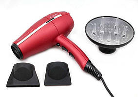 Фен для волос Ga.Ma G-EVO ULTRA LIGHT 3800 RED TITANIUM HALOGEN ION (A11.UL3800DCHAL.RS)