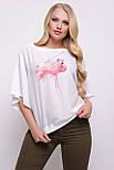 GLEM Фламинго блуза Мартина-БП к/р, фото 2