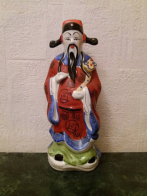 Бог кар'єри Лу-син, фарфор Китай 1950-ті роки, фото 2