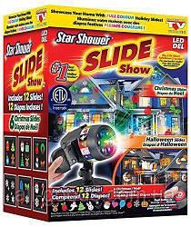 Уличный проектор Star Shower Slide Show